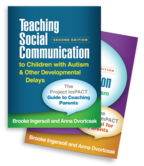 Teaching Social Communication to Children with Autism and Other Developmental Delays (2-book set), Second Edition: The Project ImPACT Guide to Coaching Parents and The Project ImPACT Manual for Parents by Brooke Ingersoll and Anna Dvortcsak