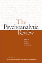 The Psychoanalytic Review - Edited by Tony Pipolo, PhDPrivate Practice, New York, NY