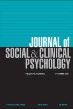 Journal of Social and Clinical Psychology - Edited by Thomas E. Joiner, PhDFlorida State University