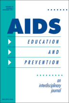 AIDS Education and Prevention - Edited by Francisco S. Sy, MD, DrPHUniversity of Nevada, Las Vegas