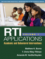 RTI Applications, Volume 1 - Matthew K. Burns, T. Chris Riley-Tillman, and Amanda M. VanDerHeyden