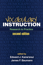 Vocabulary Instruction - Edited by Edward J. Kame'enui and James F. Baumann