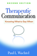 Therapeutic Communication - Paul L. Wachtel