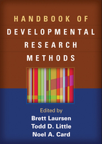 Handbook of Developmental Research Methods - Edited by Brett Laursen, Todd D. Little, and Noel A. Card