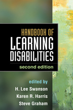 Handbook of Learning Disabilities - Edited by H. Lee Swanson, Karen R. Harris, and Steve Graham