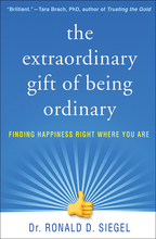 The Extraordinary Gift of Being Ordinary - Ronald D. Siegel