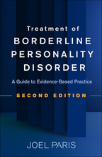 Treatment of Borderline Personality Disorder - Joel Paris