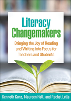 Literacy Changemakers - Kenneth Kunz, Maureen Hall, and Rachel Lella