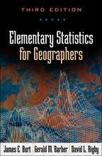 Elementary Statistics for Geographers - James E. Burt, Gerald M. Barber, and David L. Rigby