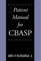 Patient's Manual for CBASP - James P. McCullough, Jr.