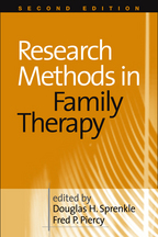 Research Methods in Family Therapy - Edited by Douglas H. Sprenkle and Fred P. Piercy