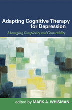 Adapting Cognitive Therapy for Depression - Edited by Mark A. Whisman