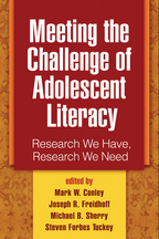 Meeting the Challenge of Adolescent Literacy: Research We Have, Research We Need
