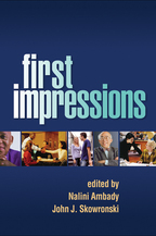 First Impressions - Edited by Nalini Ambady and John J. Skowronski