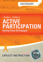 Active Participation: Getting Them All Engaged: Secondary Level