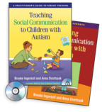 Teaching Social Communication to Children with Autism (2 Book Set) - Brooke Ingersoll and Anna Dvortcsak