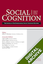 Digital Archive: Social Cognition -