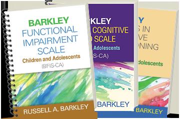 Barkley Deficits in Executive Functioning Scale—Children and Adolescents (BDEFS-CA), Barkley Functional Impairment Scale—Children and Adolescents (BFIS-CA), Barkley Sluggish Cognitive Tempo Scale—Children and Adolescents (BSCTS-CA)