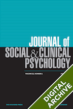 Digital Archive: Journal of Social and Clinical Psychology -
