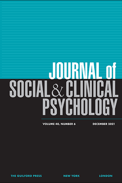 Journal of social and clinical psychology fandeluxe