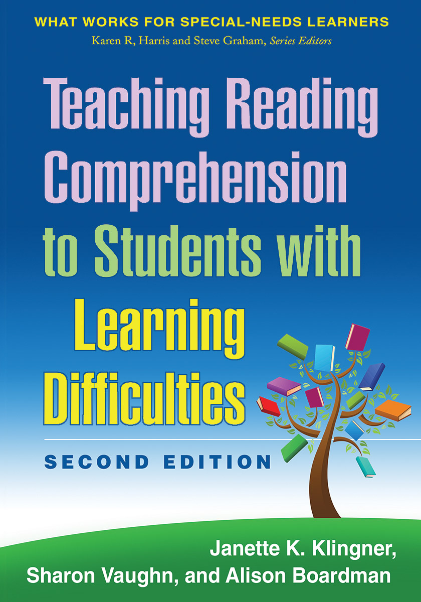 Worksheet Learning Comprehension teaching reading comprehension to students with learning difficulties second edition