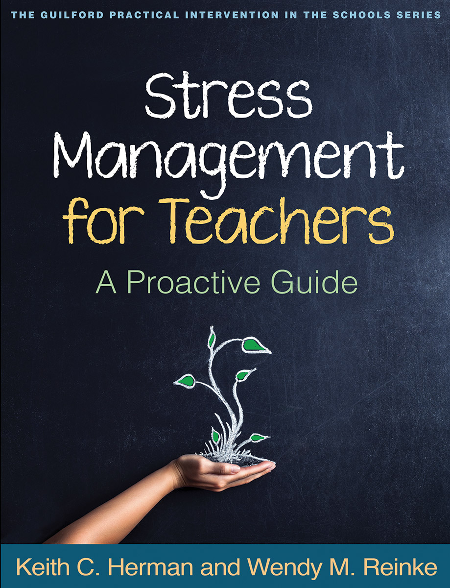 Stress management for teachers a proactive guide cover graphic fandeluxe Image collections