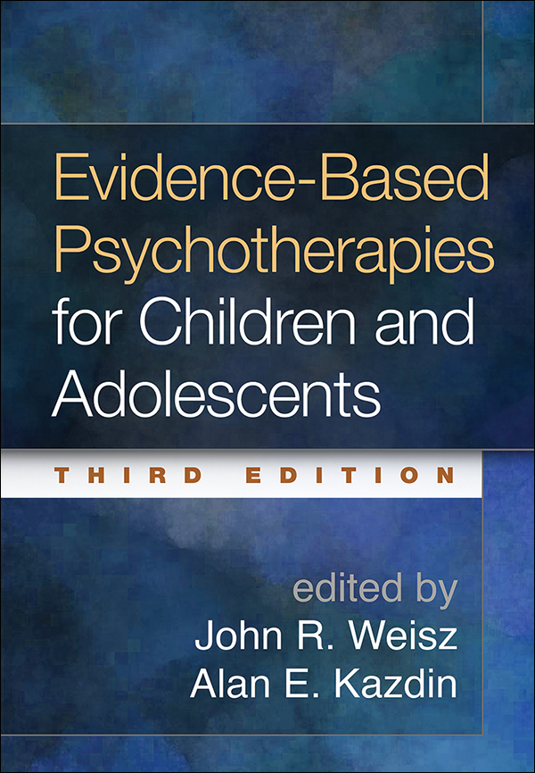 Evidence based psychotherapies for children and adolescents third cover graphic fandeluxe Choice Image