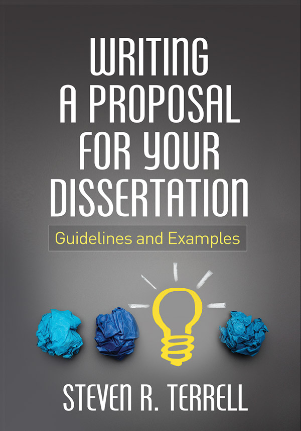 how to write a masters dissertation