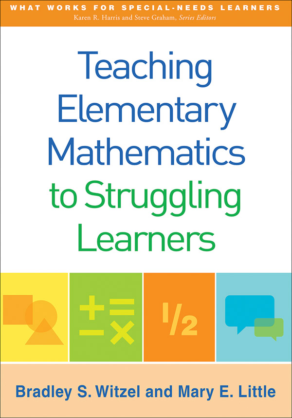 Teaching elementary mathematics to struggling learners cover graphic fandeluxe Choice Image