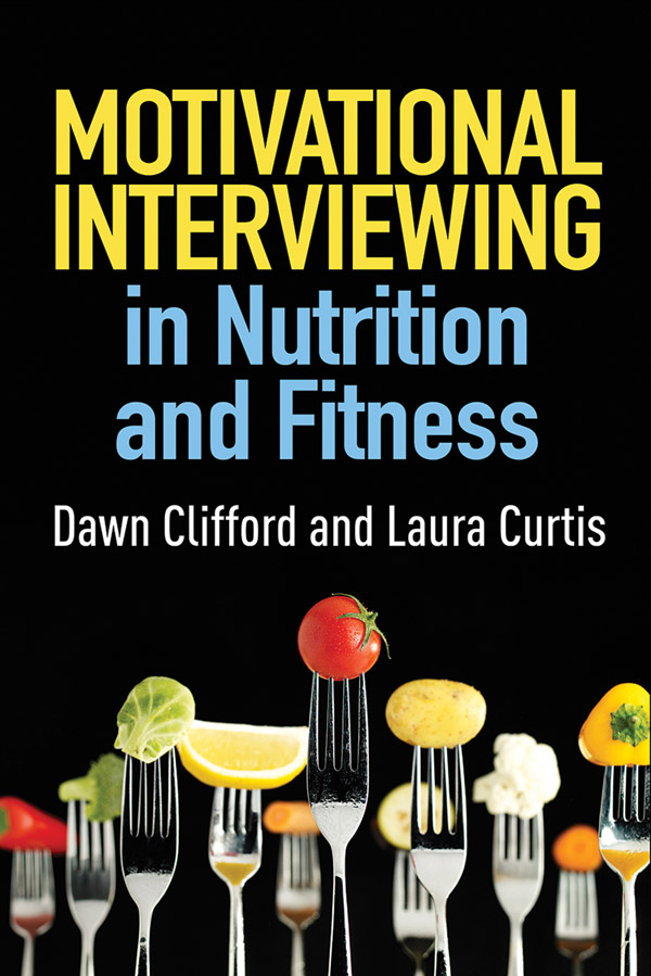 Motivational Interviewing In Nutrition And Fitness Cover Graphic