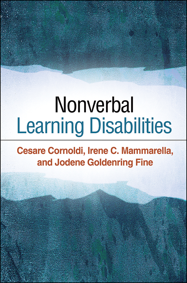 Nld And Families >> Nonverbal Learning Disabilities