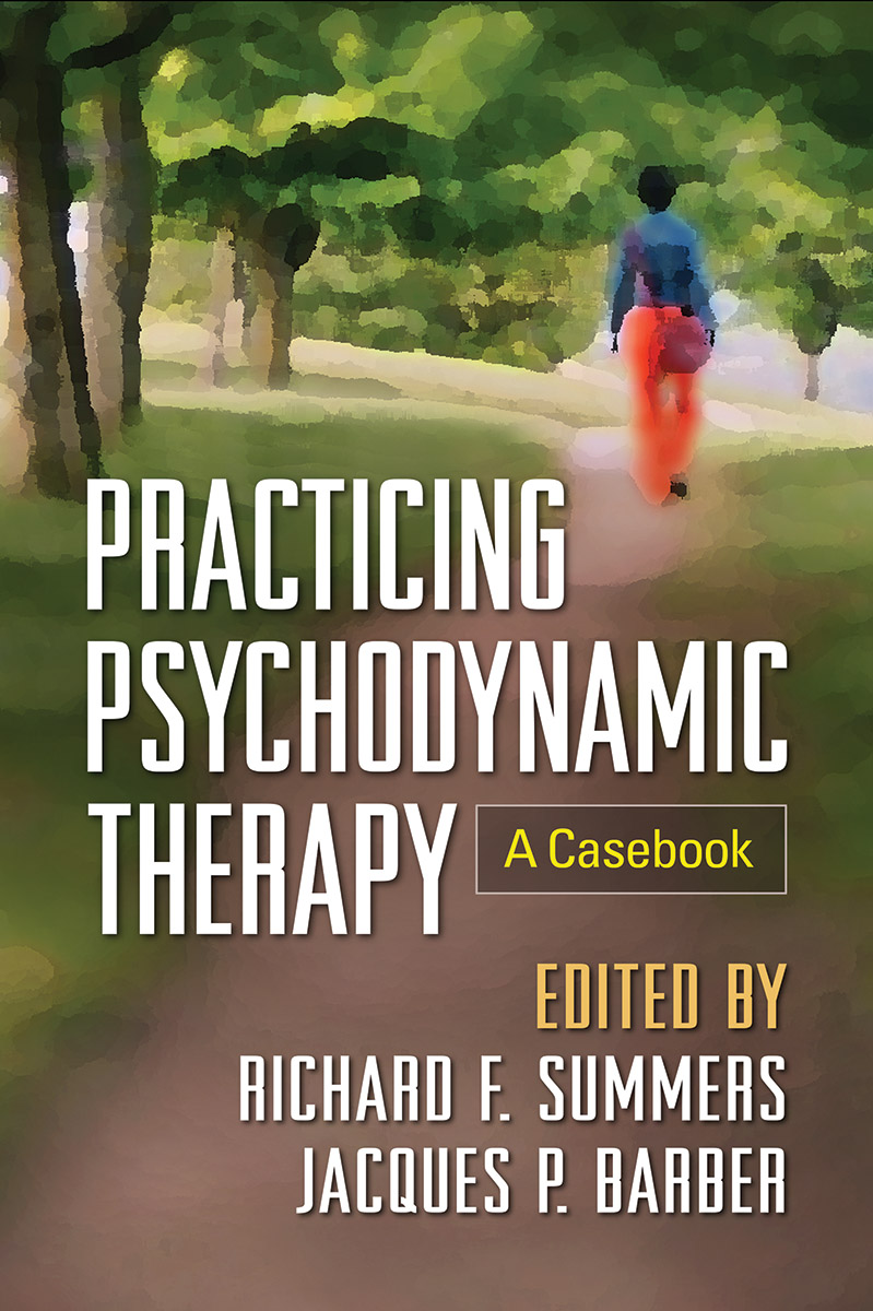 psychodynamic therapy barber jacques p summers richard f