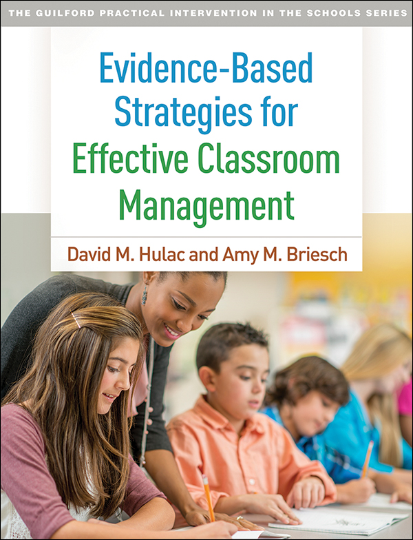 Evidence Based Strategies For Effective Classroom Management