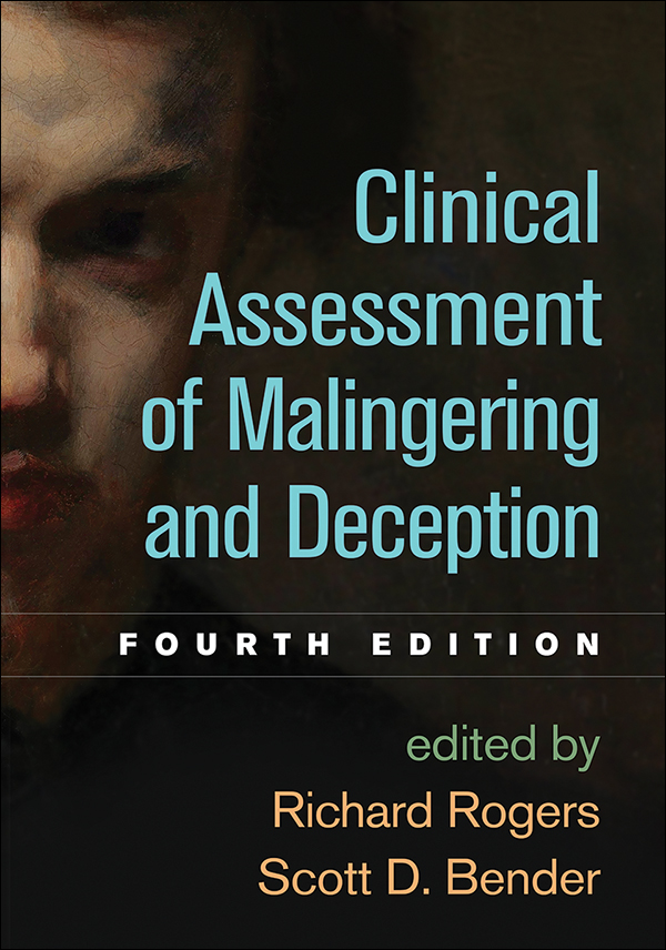 Clinical assessment of malingering and deception fourth edition cover graphic fandeluxe