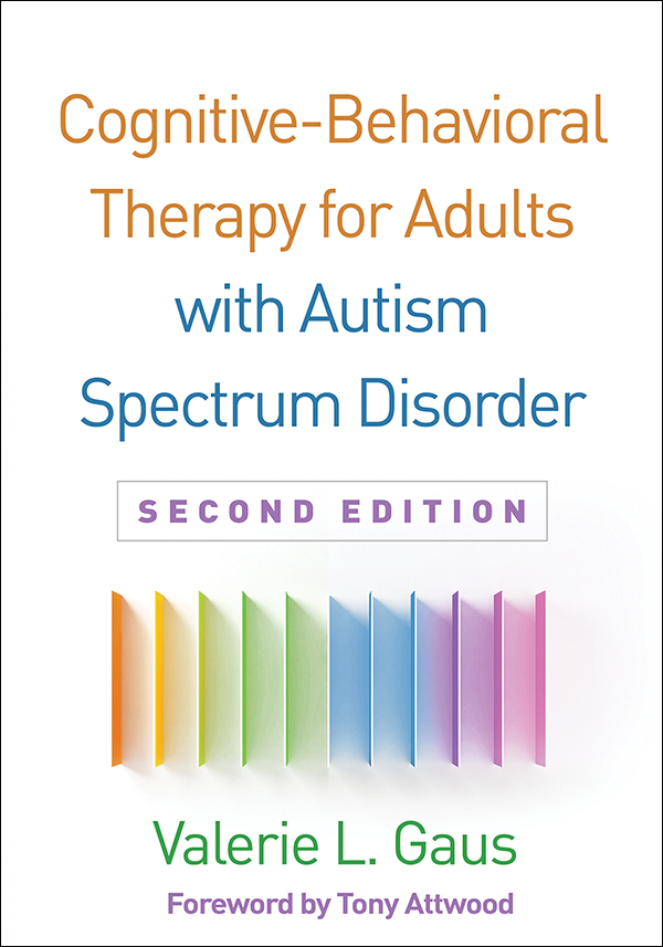 Cognitive Behavioral Therapy For Adults With Autism Spectrum