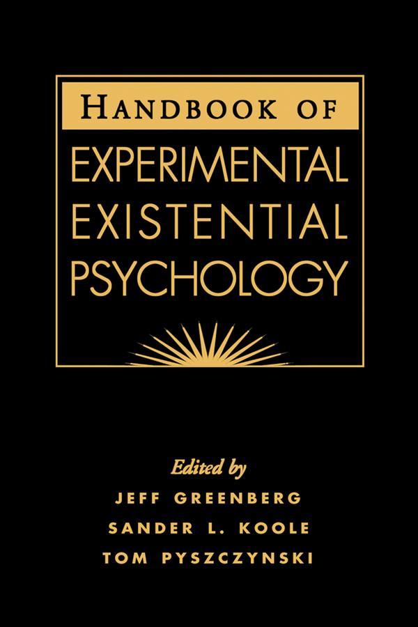 Handbook of experimental existential psychology malvernweather Gallery