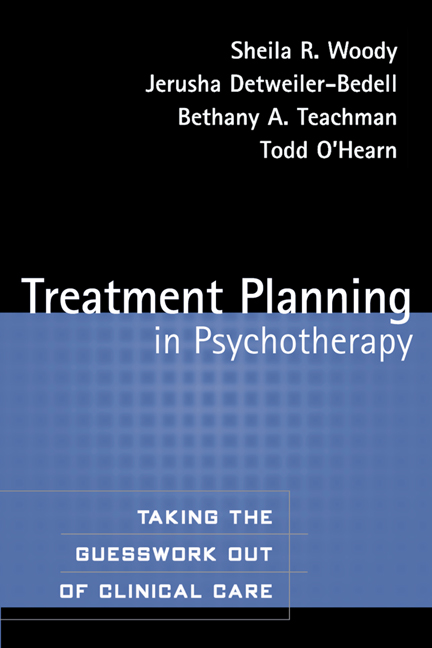 Treatment planning in psychotherapy taking the guesswork out of cover graphic fandeluxe Choice Image