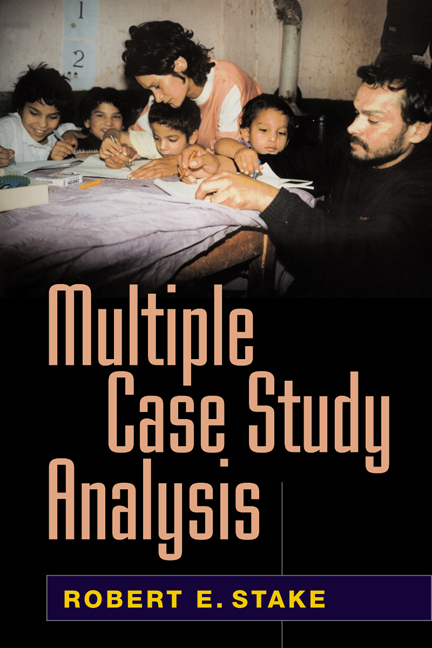 multiple case study analysis stake Stake robert e 2006 multiple case study analysis new york ny guilford press from mscm cm652 at polytechnic university of the philippines.