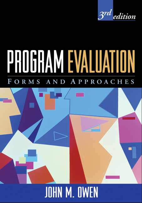 Program Evaluation: Third Edition: Forms and Approaches