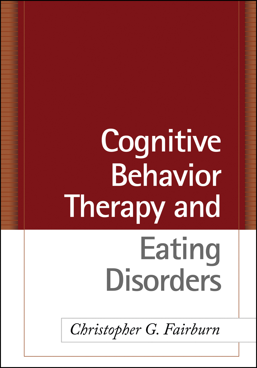 Cognitive behavior therapy and eating disorders cover graphic fandeluxe Image collections