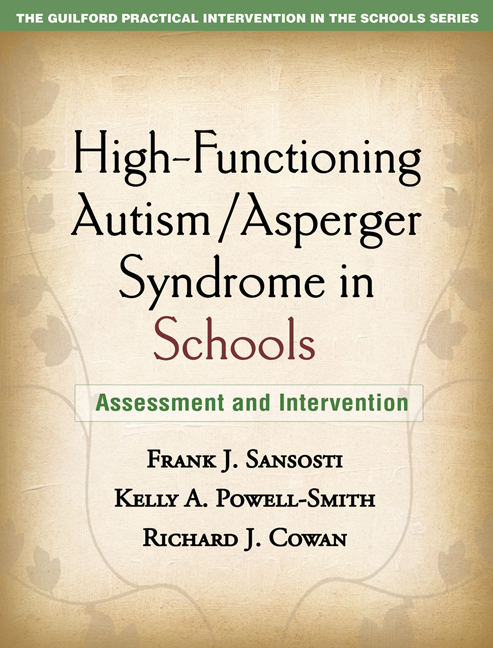 High functioning autismasperger syndrome in schools assessment and cover graphic fandeluxe Image collections