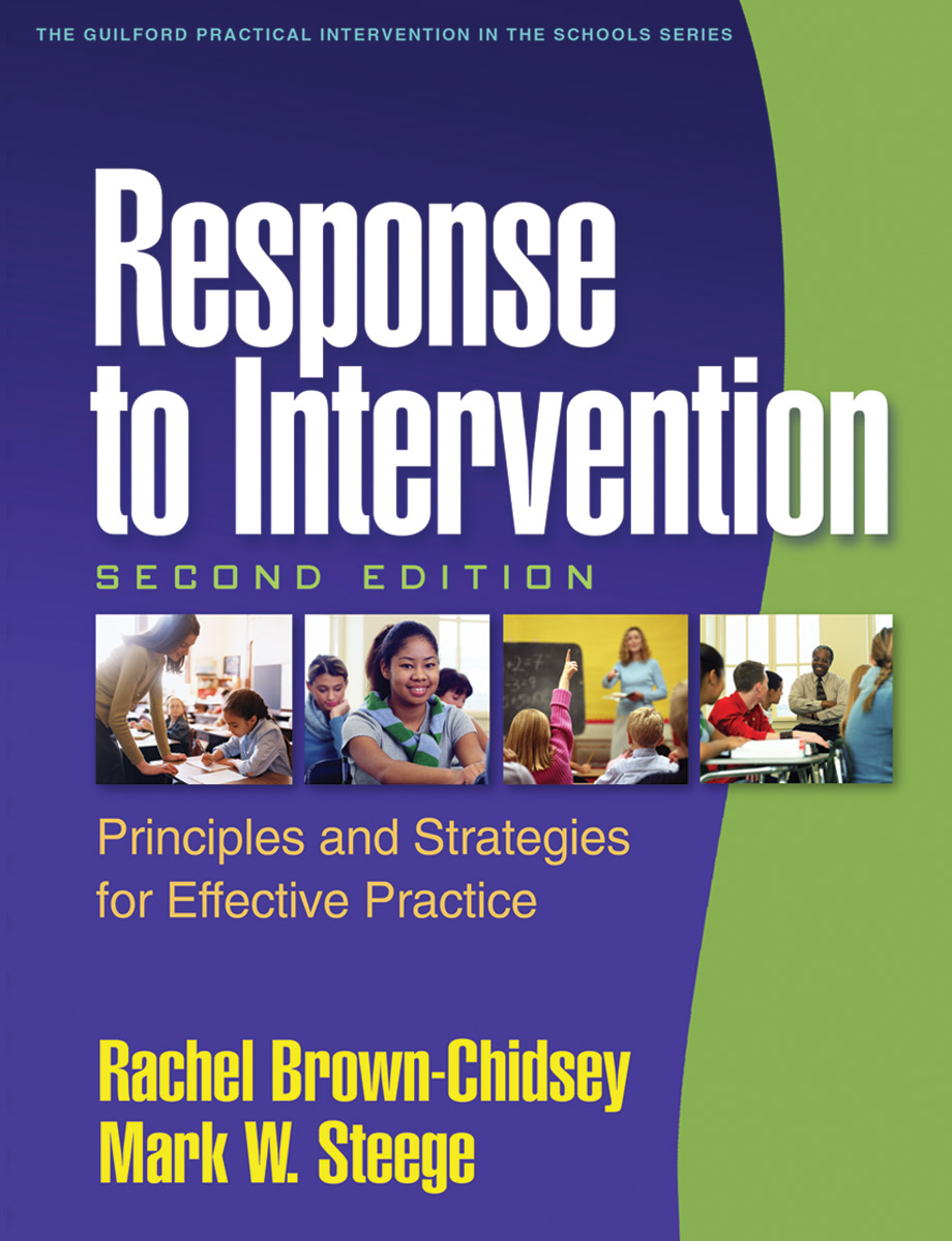Response to intervention second edition principles and strategies cover graphic fandeluxe Image collections