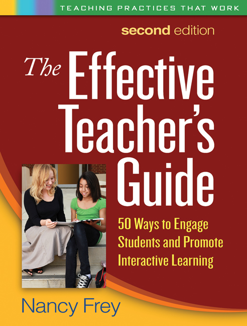The effective teachers guide second edition 50 ways to engage cover graphic fandeluxe Image collections