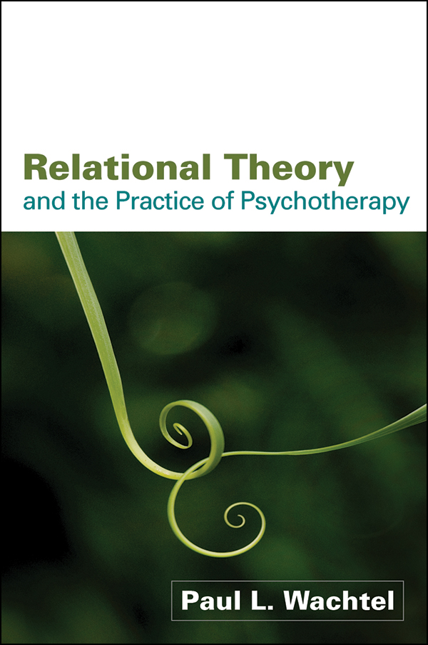 Relational theory and the practice of psychotherapy cover graphic fandeluxe Images